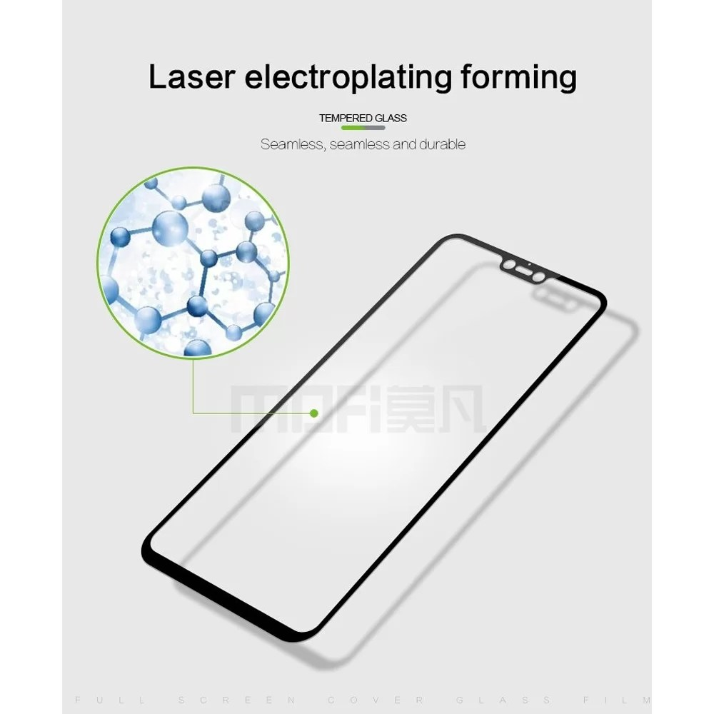 MOFI Vivo V9 2.5D 9H Full Screen Protector Tempered Glass
