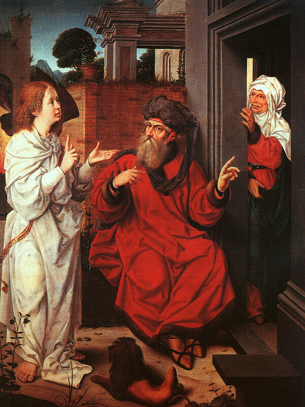 Abraham, Sarah, and the Angel