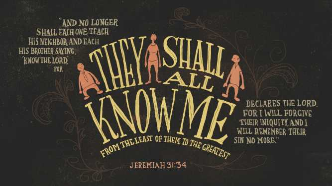 Jer 31:34