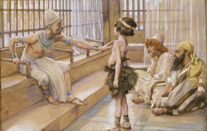 Joseph sold into Egypt
