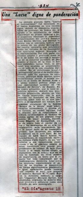 1949 opera lucia de lammermoor recorte 1