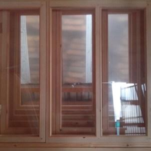 Окна дачные деревянные