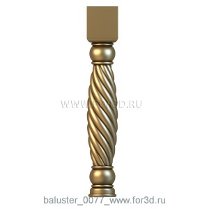 baluster_0077_www.for3d.ru