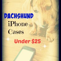 Bargain Dachshund iPhone Cases Under $25