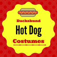 Wiener Dog Hot Dog Costume for Halloween