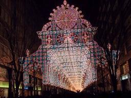 去年クリスマスに訪れた東京ミレナリオ