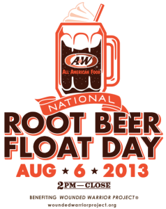 National Root Beer Float Day   A W® All American Food