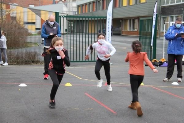 Semaine olympique ecole dauphinot Reims