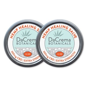 Dacrema Botanicals CBD Salve Products Extra Strength
