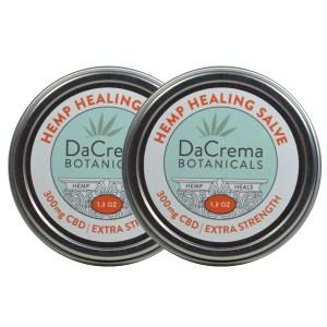 Dacrema Botanicals Hemp Healing Salve CBD Combo
