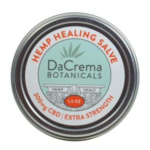 Dacrema Botanicals Natural CBD Hemp Healing Salve 300mg