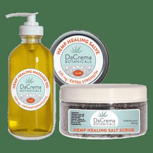 Dacrema Botanicals CBD Oil Infused Products