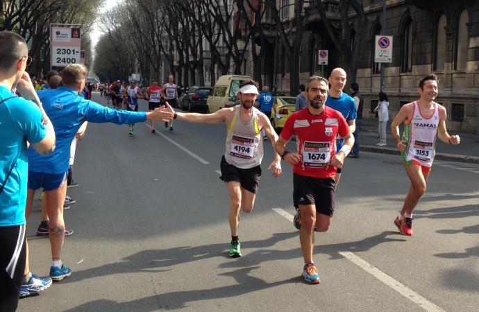 Divertimento e generosità alla Milano Relay Marathon