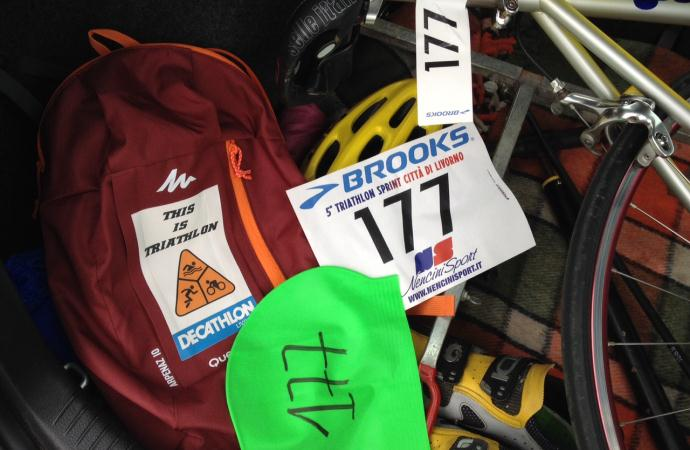 Triathlon Sprint di Livorno: l'esordio di Diego