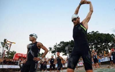 Il riscaldamento pre-gara nel triathlon