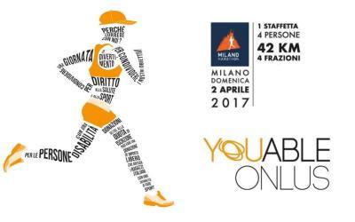 Milano Marathon 2017 con YouAble Onlus