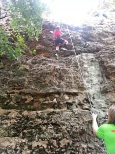 More rock climbing at Reimer's Ranch