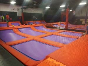 Trampoline Extreme Dodgeball