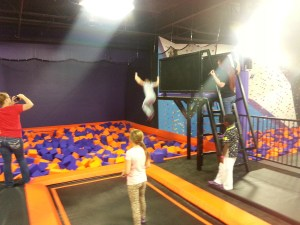 Foam Pit High Dive