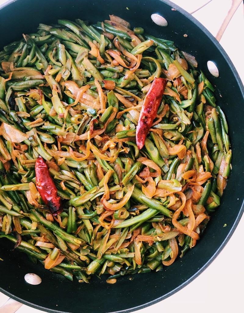 Masala-Spiced Green Beans (Vegan + Gluten-Free)