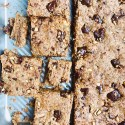 Chocolate Chunk Peanut Butter Bars (Vegan, Gluten-Free, Grain-Free)