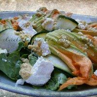 Insalata di fiori di zucchina