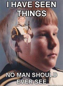 PTSD, clarinet, meme, dads, fatherhood, parenting, funny