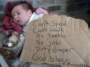homeless, stress, funny, dad and buried, mommy bloggers, dad bloggers, humor, southerners, kindness, funny, babies, toddlers, parenting, lessons, education, courtesy, bum, dollar, pandemic