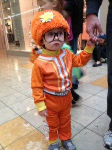 Yo Gabba Gabba, Halloween, costume, Hurricane Sandy, Frankenstorm, DJ Lance, DJ Lance Rock, Nickelodeon, kids, toddlers, children, dads, parents, moms, parenthood,fatherhood, trick or treat