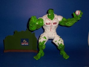 Hulk, comics, superheroes, Red Sox, Boston, New York, Yankees, sports, family, life, parenting, toddlers, dads, fatherhood