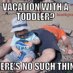 parenting, love/hate, funny, humor, birthday parties, dad blogger, toddlers, children, family, life, lifestyle, dinner time, bedtime, bath time, dads, fatherhood, family vacation