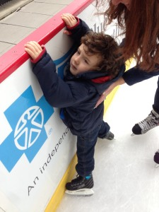 parenting, dads, anxiety, fear, kids, boys, health, reckless, ice skating, injury