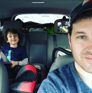 road trip, family road trip, parenting, funny, humor, scary mommy, dad and buried, mike julianelle, holidays, travel, thanksgiving, grandma, fatherhood, motherhood, funny mom blogs, dad blogs