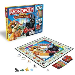Monopoly Junior, board games, parenting, dad and buried, mike julianelle, dad bloggers, daddy bloggers, mommy bloggers, dad blog, humor, children, fatherhood, boredom