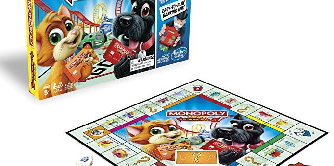 Giveaway! Monopoly Junior: Electronic Banking Edition