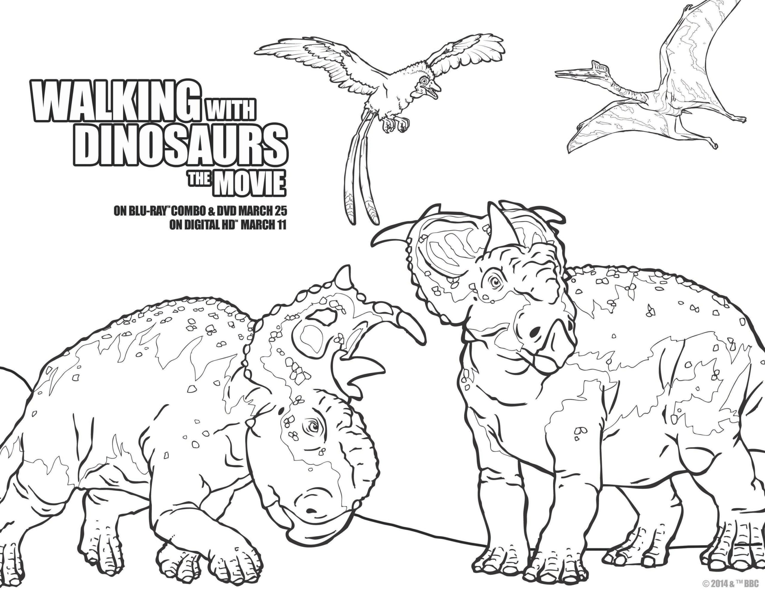 Walking With Dinosaurs walking into your home on Blu-ray