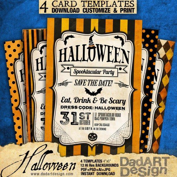Halloween Vintage Card