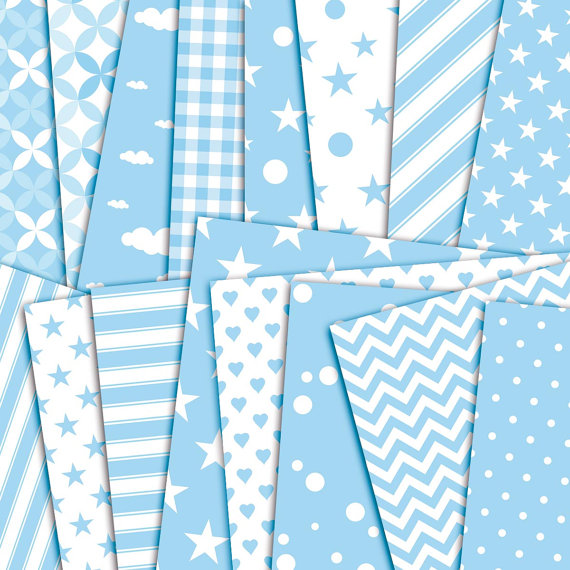 It's a boy - baby shower patterns