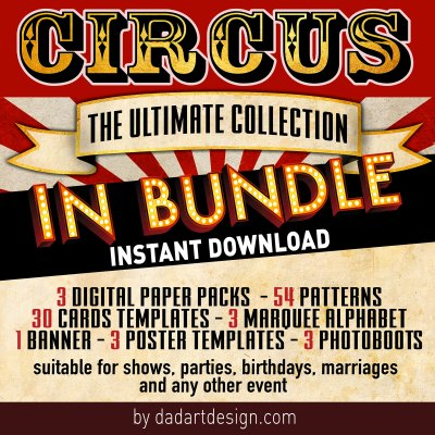 Circus Big Bundle Package