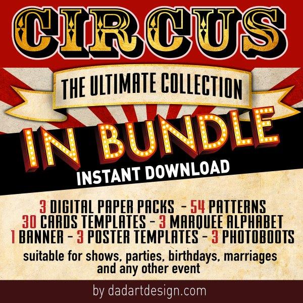 Circus Big Bundle Package