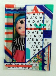 Collage, Dada's Women, Tate Exchange