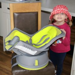 Graco High Chair Straps Instructions Lawn Covers The Swivi Booster Seat Dad Blog Uk