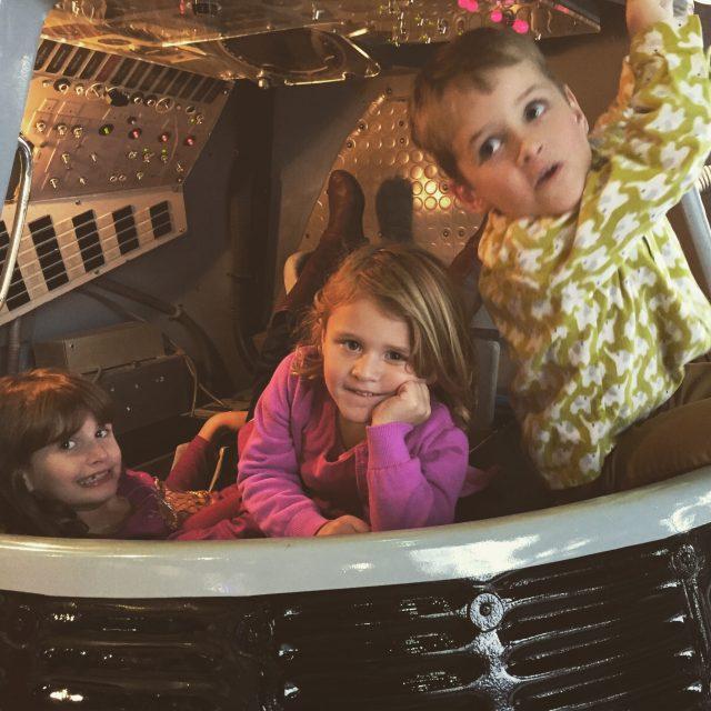 babies in spacecraft