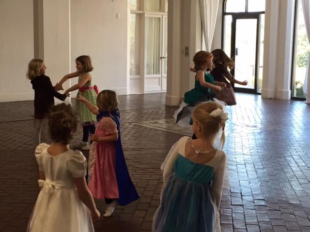 leading dancing