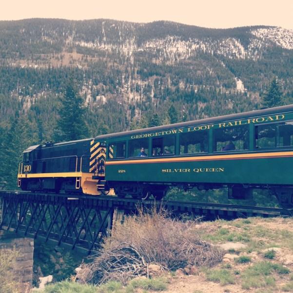 train in CO
