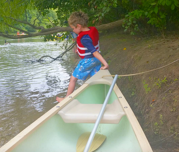 TO by canoe