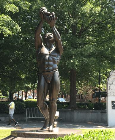 statue of KK