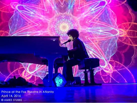 Prince at Fox last week