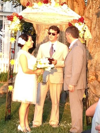 Gilliam wedding