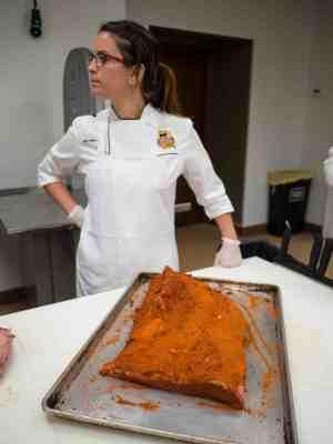 Chef Pado and a brisket